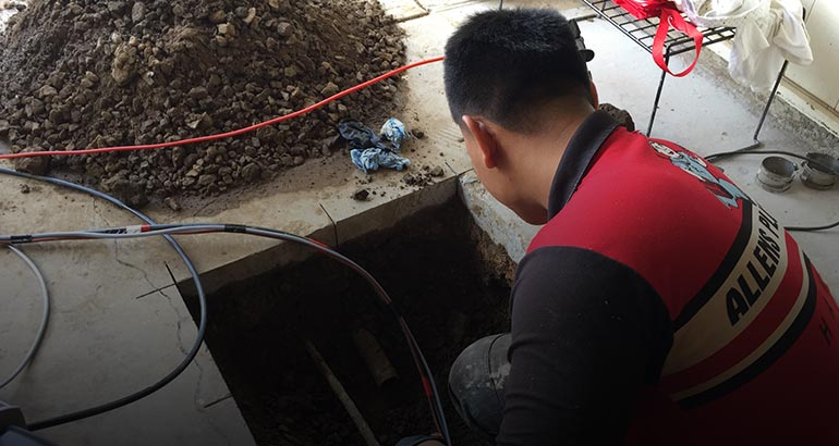 Pipe Coating Allens Plumbing