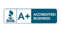 BBB - A+ Accredited Business
